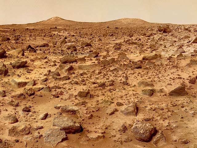 Povrch Marsu